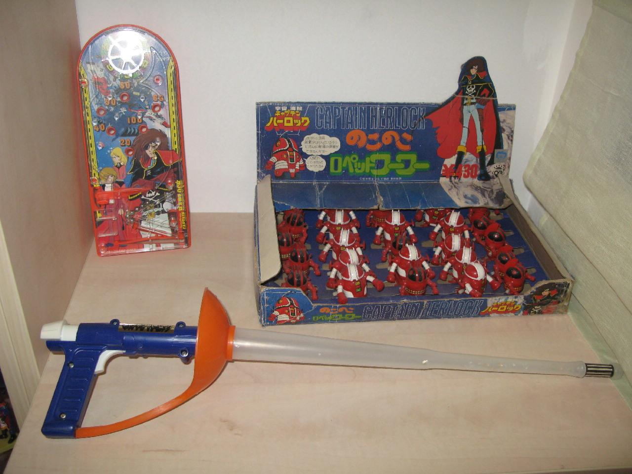 Albator 1978,  les figurines PVC, 1978 Detail9